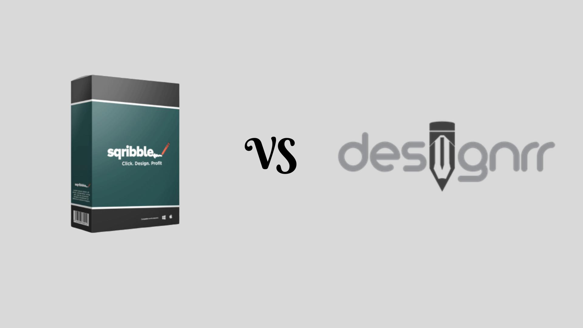 Sqribble vs Desingrr