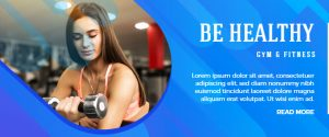 Fitness and Health Centre Banner Templates