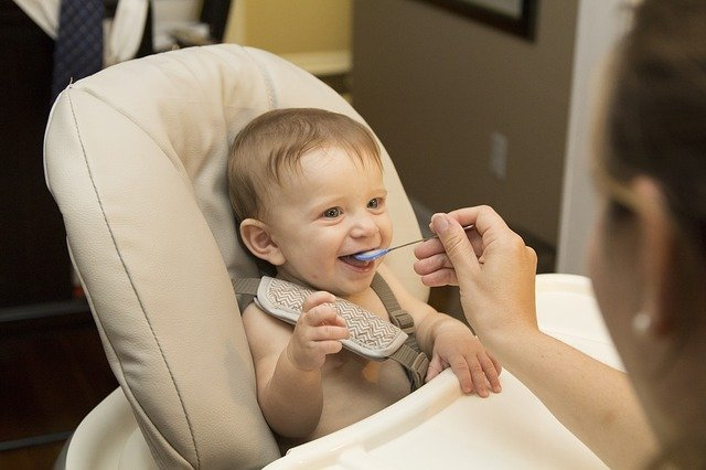 Making healthy food for babies