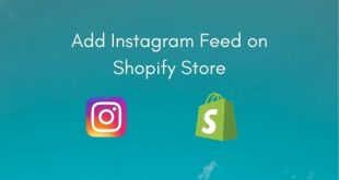 Embed Instagram feed on Shopify Store